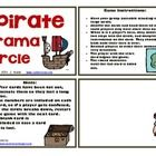 """Ahoy, me mateys!  This drama activity with a pirate theme has a similar format to the """"I Have / Who Has"""" game.  This is a fun any day activity that..."""