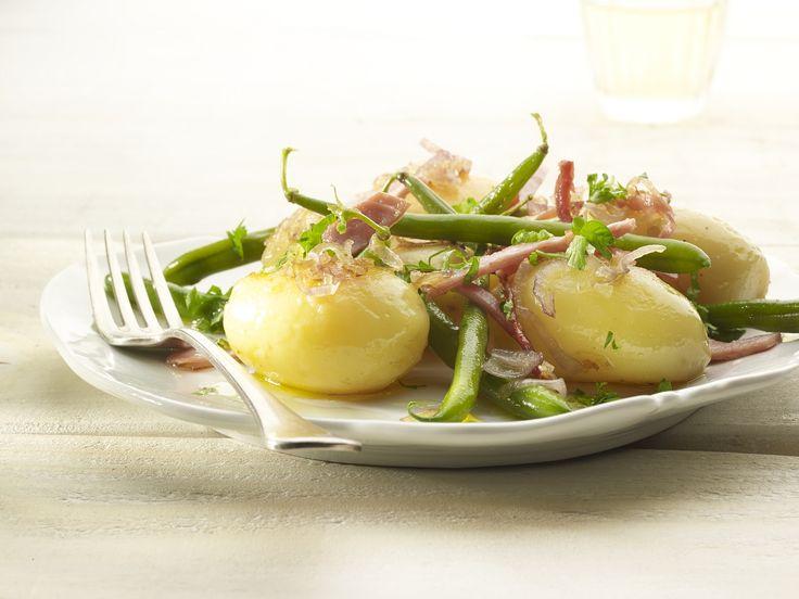 Een overheerlijke luikse salade met meesterlijke ham, die maak je met dit recept. Smakelijk!