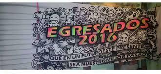 Resultado de imagen para banderas de egresados 2016