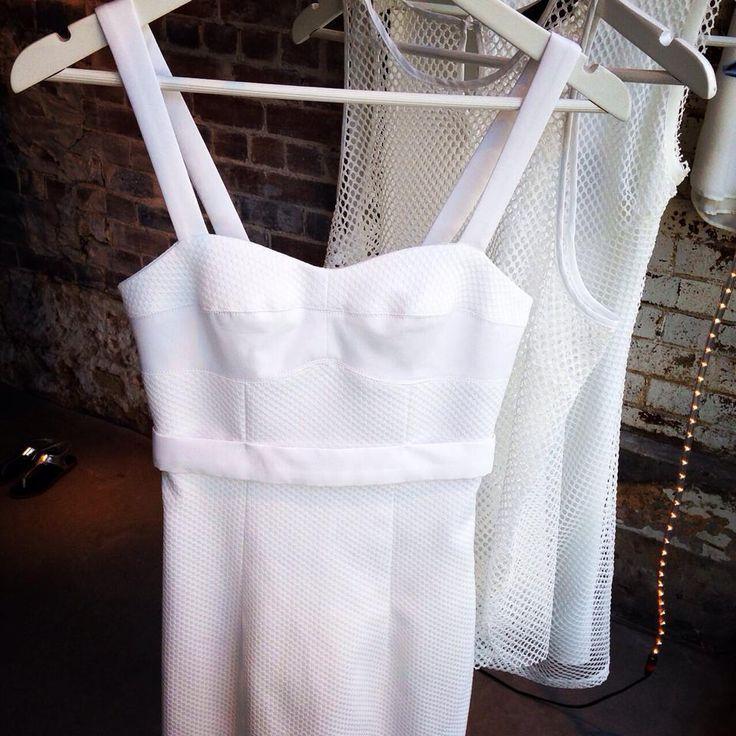 Watson X Watson - Cotton Pique Babe Dress - White