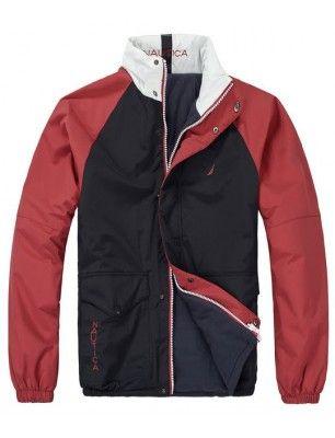 Nautica chaqueta reversible de hombre | Navy-red