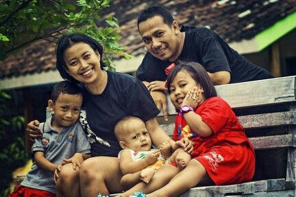 enjoy the morning #family #indonesian #andhanghabsoro'sfamily