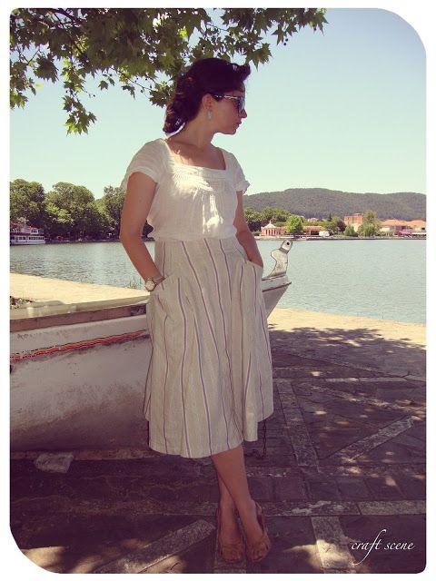 Flared skirt - φούστα κλαρωτή...