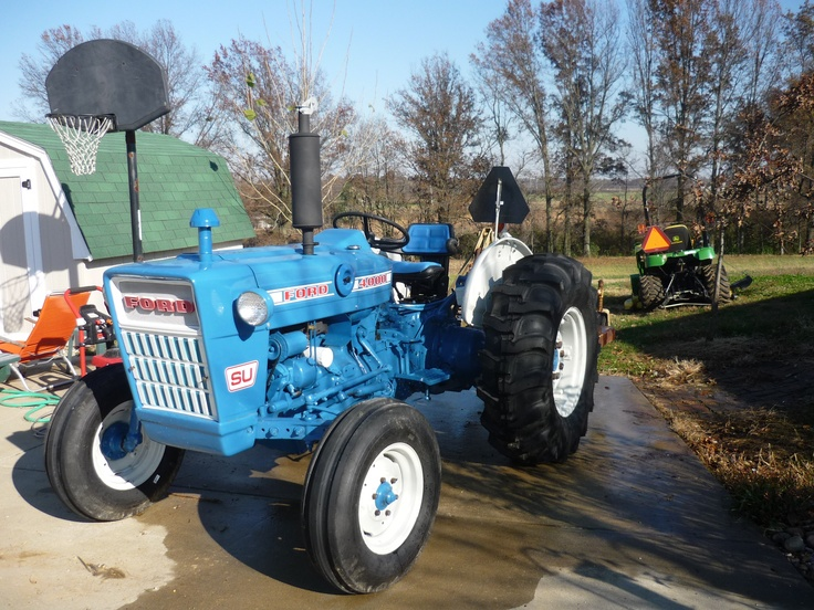 Ford 4000 Tractor Controls : Best images about blue ford tractors on pinterest