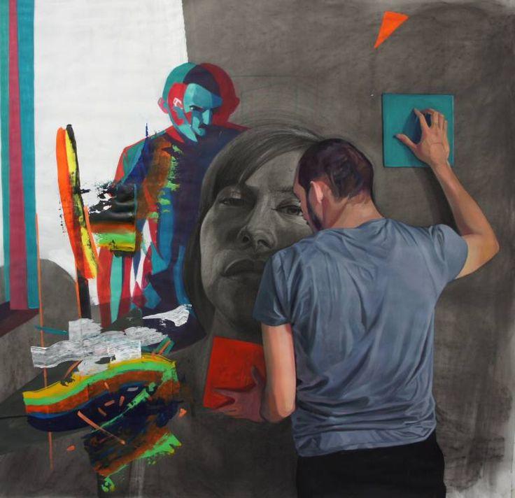 "Saatchi Art Artist Emanuel-Alexandru Gliga; Drawing, ""Searching for equilibrium"" #art"