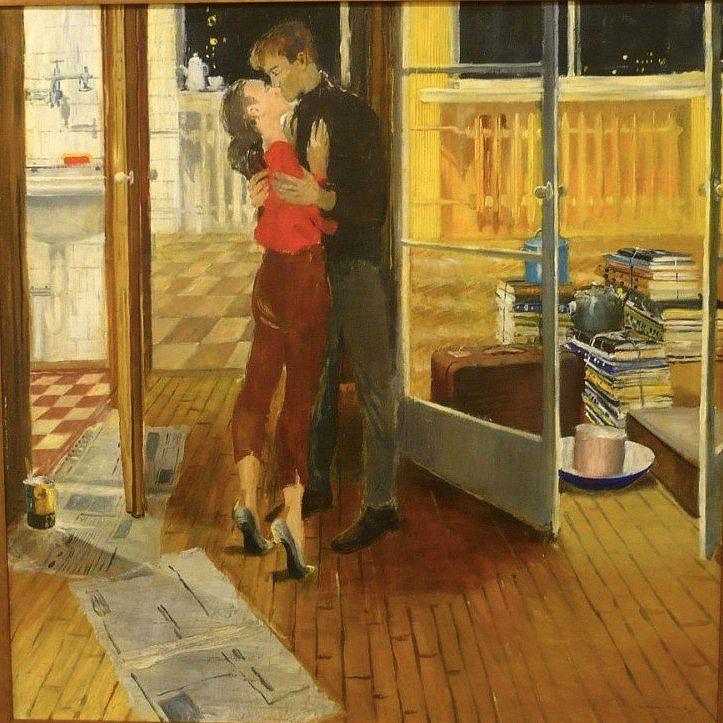 Yuri Pimenov - Morning window (1959)