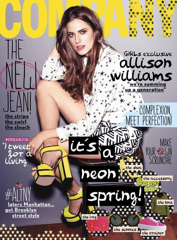Girls Star Allison Williams Covers Company Magazine