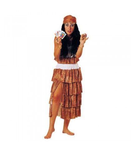 Γύφτισσα στολή ενηλίκων Χορευτικές και Latin στολές