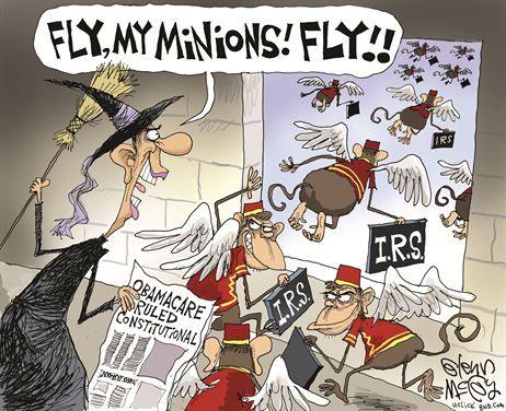 More taxes, more taxes, more taxes! Political Cartoons by Glenn McCoy