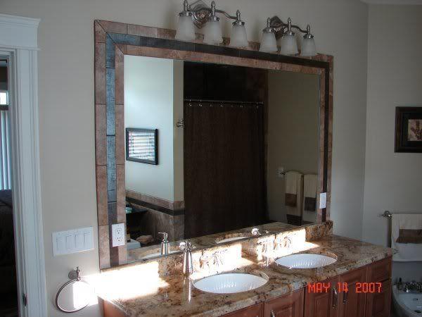 Tile Framed Bathroom Mirror: 62 Best TILE Images On Pinterest