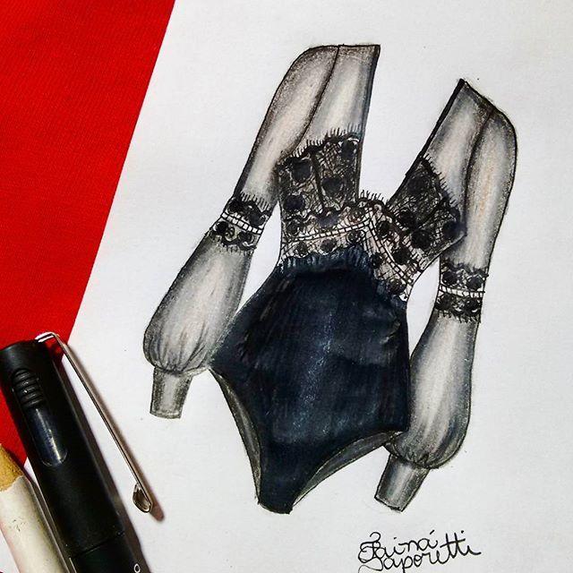 ♥◼ #draw #drawing #fashion #love #inlove #fashionillustration #minimalist #black #illustration #lingerie #intimates #instagood #fashiondesign #designdemoda #moda #art #arte #croqui #handmade #lookdodia #body #lookoftheday #lace #vintage #fashion4arts
