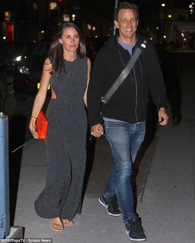 Seth Meyers And Wife Make First Public Appearance As A