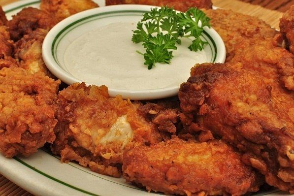 Foto de la receta de salsa para alitas de pollo
