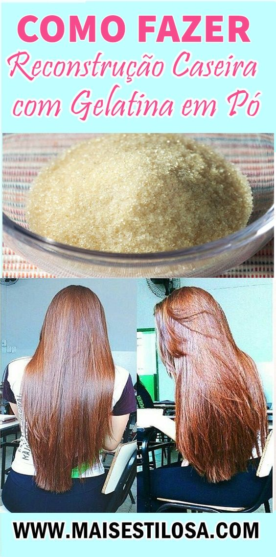 Reconstrução Caseira com Gelatina em Pó!  #reconstrução #reconstruçãocapilar #reconstruçãocaseira #reconstruçãocomgelatina #gelatina #cronograma #cronogramacapilar   #hair  #receitacaseira #dicas #dicasdecabelo  #natural #natureba #dicasdebeleza #projetorapunzel  #longhair #diy #facavocemesma #beauty #hair #homemade