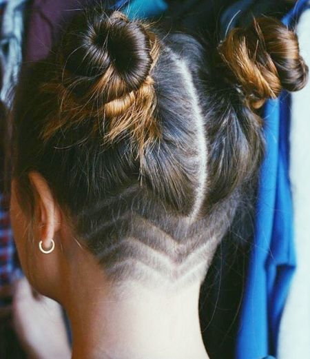 66 Rasierte Frisuren für Frauen, die überall Blicke auf sich ziehen