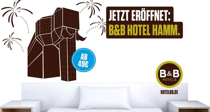 Jetzt eröffnet: B&B #Hotel #Hamm - 66. B&B Hotel in Deutschland