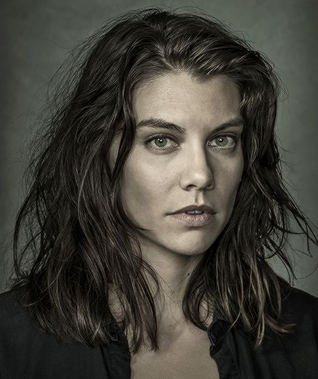 Lauren Cohan as Maggie Greene photographed by Dan Winters for Entertainment Weekly