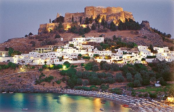 Lindos, Rhodes, Greece.  Heaven