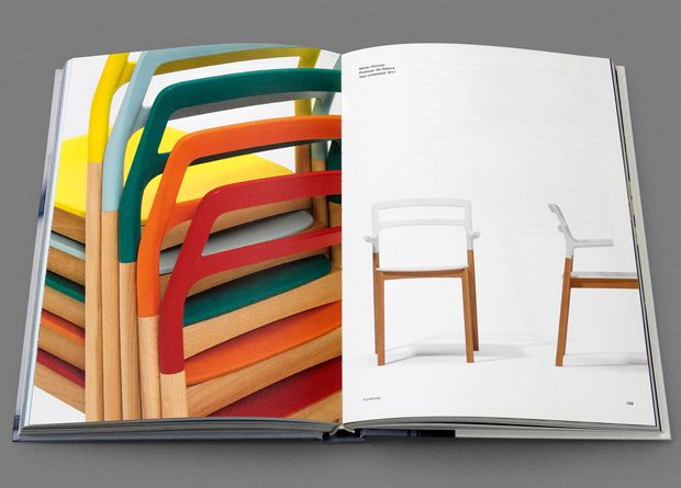 Monica Förster Design Studio, Monica Förster – Lateral Thinking, furniture/object/industrial design, Arvinius, 2013. It is a book illustrating more than 15 years of collaborations with international brands such as De Padova, Poltrona Frau, Cappellini, Tecno and Alessi as well as her impact on Swedish everyday life. It includes previously unpublished sketches, renderings, models and exhibition work and offers an unique insight to Monica Förster's thoughts and design processes.
