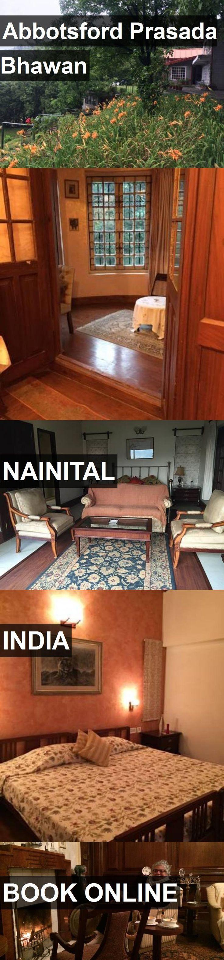 Hotel Abbotsford Prasada Bhawan in Nainital, India. For more information, photos, reviews and best prices please follow the link. #India #Nainital #travel #vacation #hotel