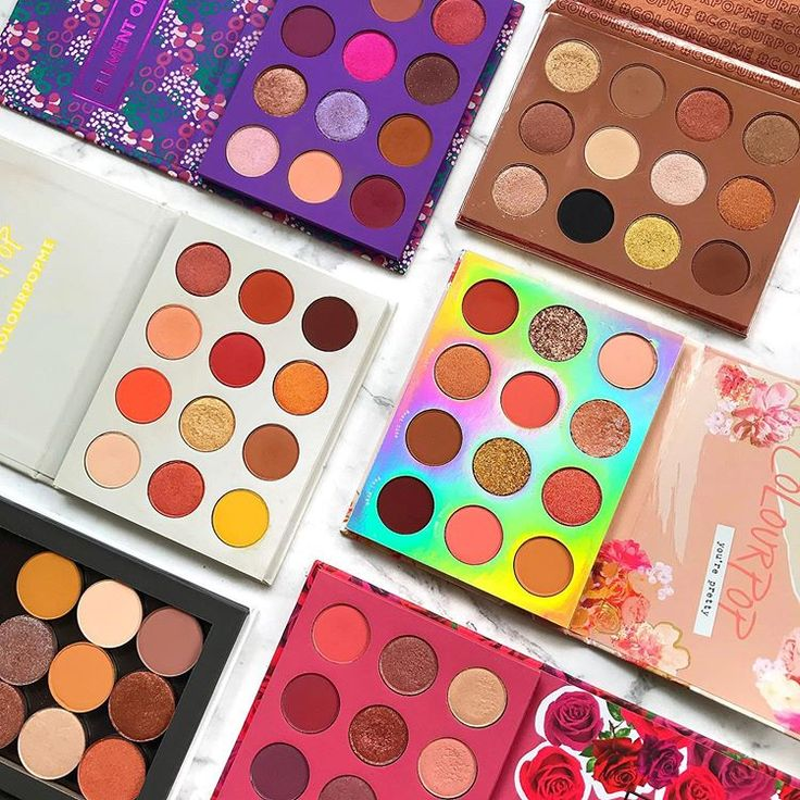 colourpopcosmetics palette goodness! These are the