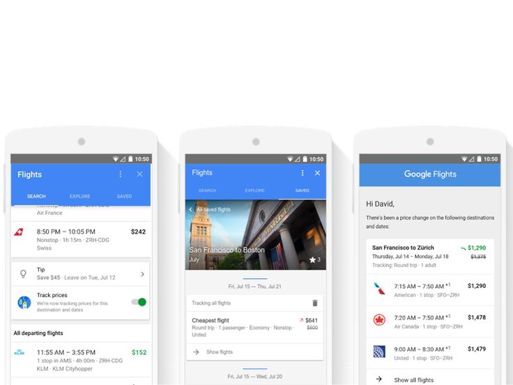 User interface by @google