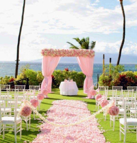Best beach theme wedding images on pinterest