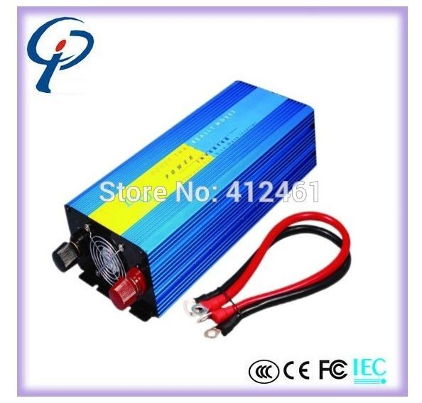 144.69$  Buy now - http://aliq9u.worldwells.pw/go.php?t=2034875654 - HOT! Off Grid Inverter 2000W DC to AC Pure Sine Wave Inverter Inversor PORT.Solar PV Inverter, Wind Inverter