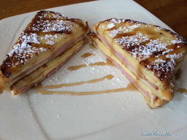 Sanduíche Monte Cristo