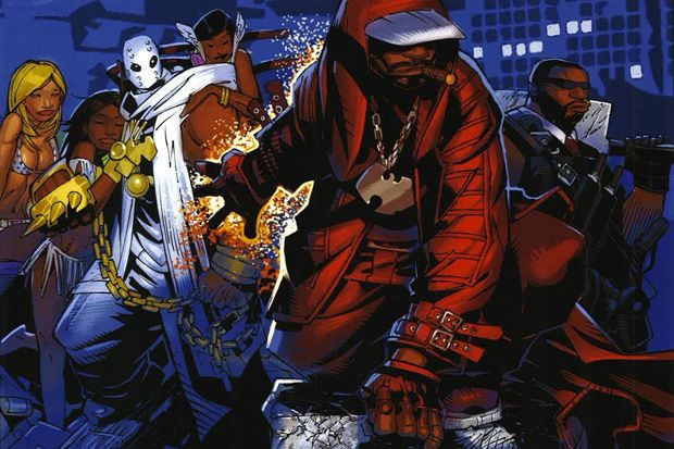 The Unpublished Wu-Tang Wu-Massacre Comic Book March 2010