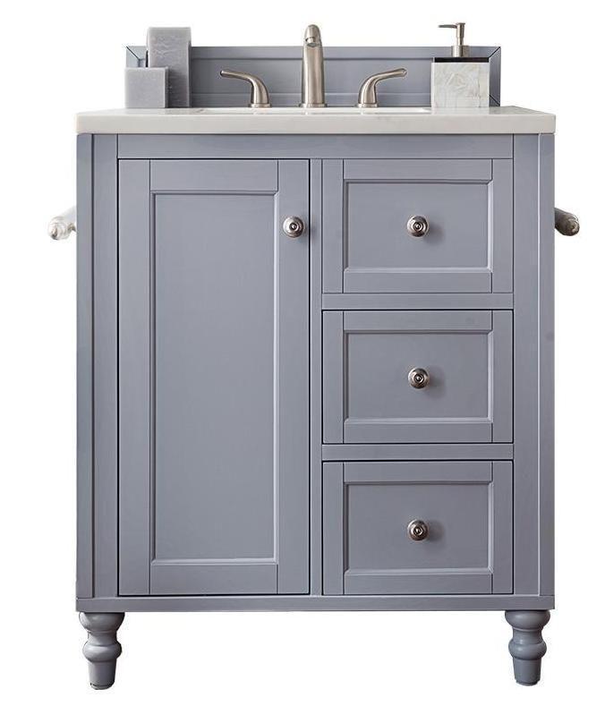 30 Copper Cove Encore Silver Gray Single Sink Bathroom Vanity