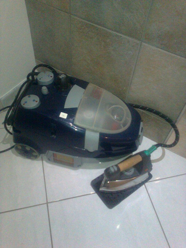 Vorwerk steamer with steam iron, dry and wet vacuum cleaner