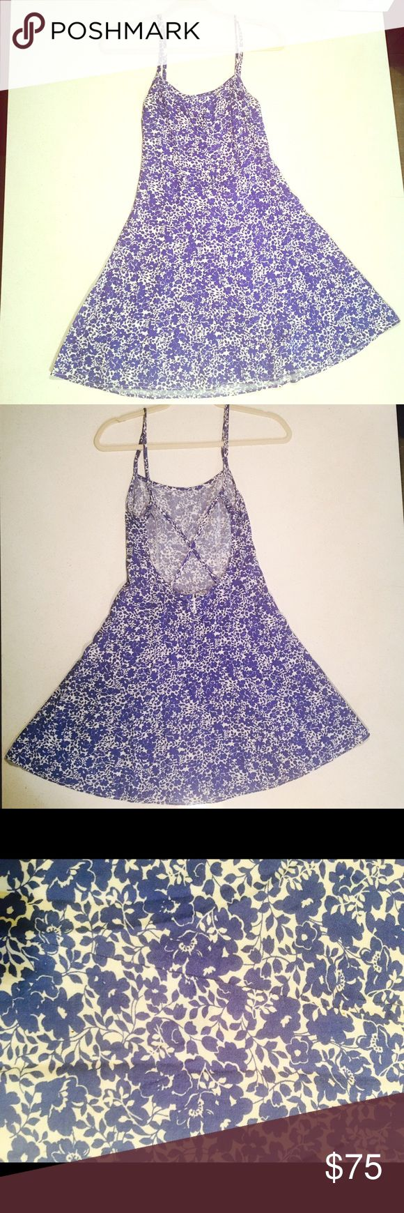 Ralph Lauren  backless summer dress This is a beautiful floral summer dress by Ralph Lauren, only worn once to a wedding, in excellent condition Denim & Supply Ralph Lauren Dresses Backless