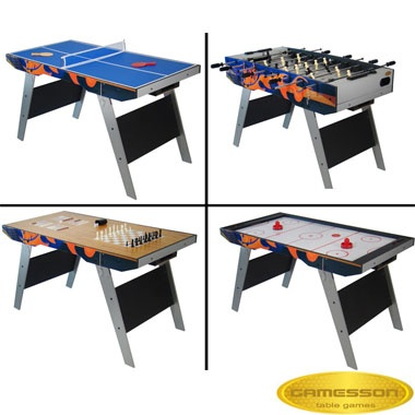 4ft Gamesson Tellus 6 In 1 Games Table