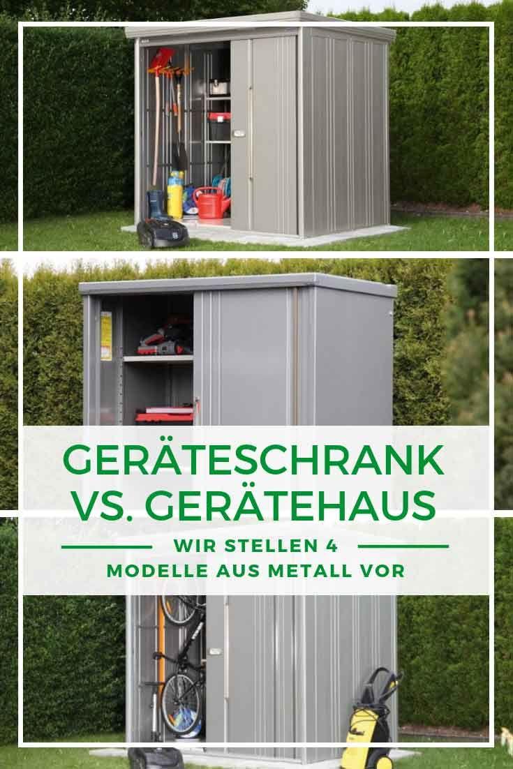 Geratehaus Aus Metall Mehr Stauraum Fur Ihre Gartengerate Gartenhaus Metall Wolff Gartenhaus Gartenhaus