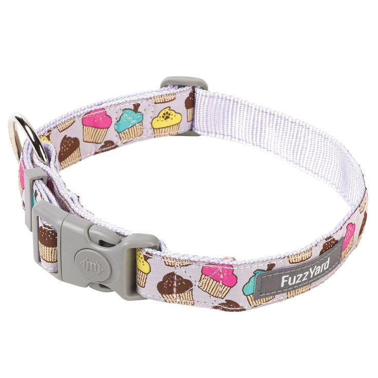 Fresh Cupcakes Dog Collar