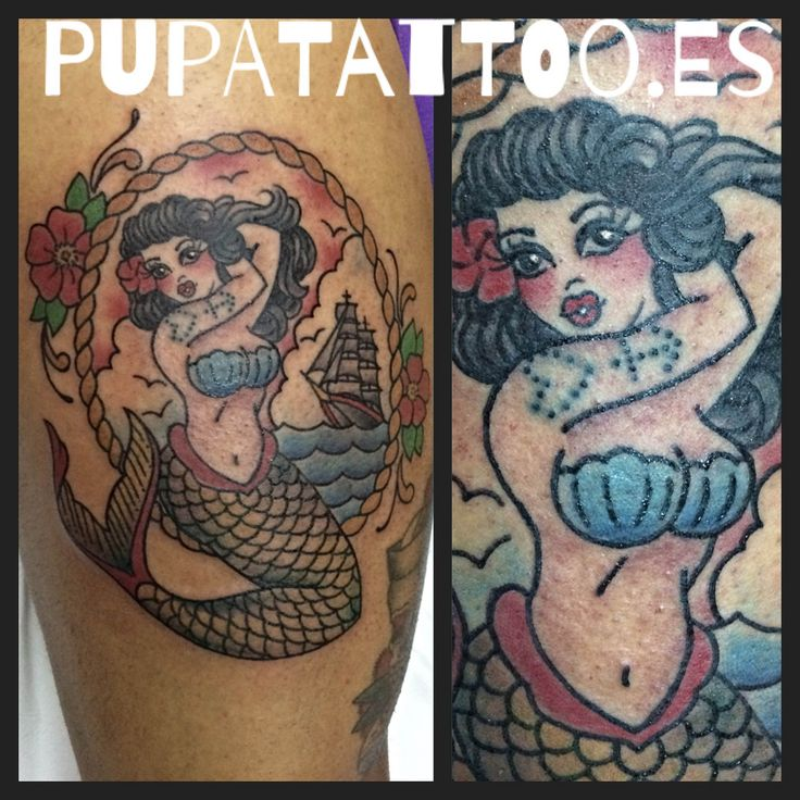 https://flic.kr/p/M3W2S9 | Tatuaje Sirena Pupa Tattoo Granada | by Marzia Instagram : instagram.com/pupa_tattoo/ Web: www.pupatattoo.es/ Citas: 958221280 #tattoo #tattoos #tatuaje #tatuajes #tattoogranada #ink #inked #inkaddict #timetattoo #tattooart #tattooartists