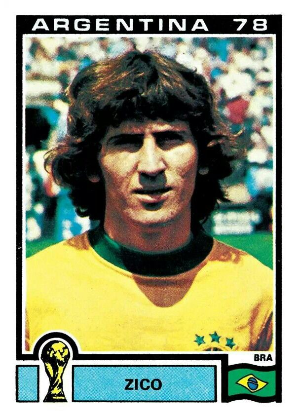 254 Zico - Brasil - FIFA World Cup Argentina