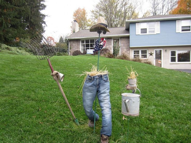 154 best Scarecrows and iron boards images on Pinterest Scarecrow - halloween scarecrow ideas