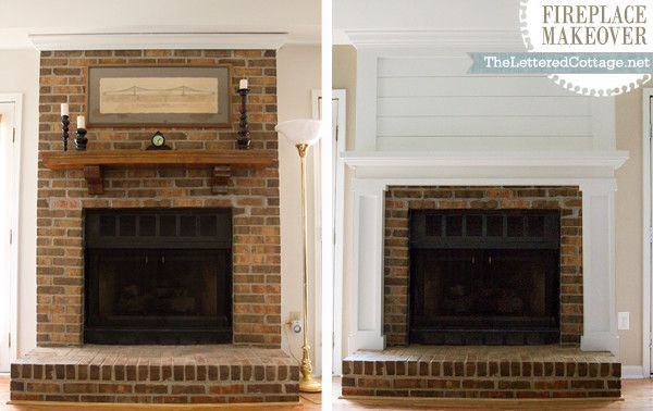 Shiplap Grace Gumption Fireplace Redo S Pinterest