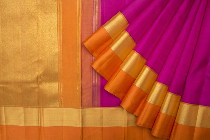 Kanakavalli Handwoven Kanjivaram Silk Sari 1015628 - Sari / Silk Saris - Parisera