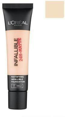 Yes. Infallible  24-matte. Długotrwały efekt matu i jasny odcień.