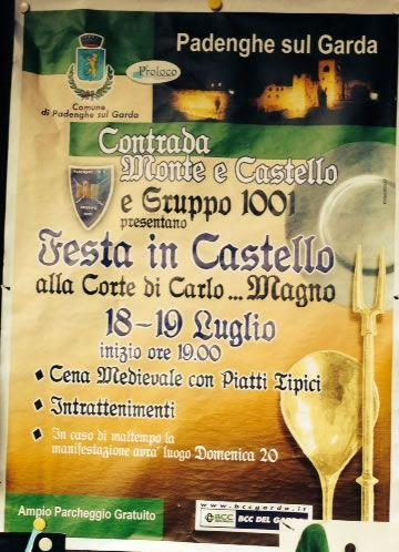 Festa in Castello alla Corte di Carlo... Magno a Padenghe http://www.panesalamina.com/2014/26204-festa-in-castello-alla-corte-di-carlo-magno-a-padenghe.html