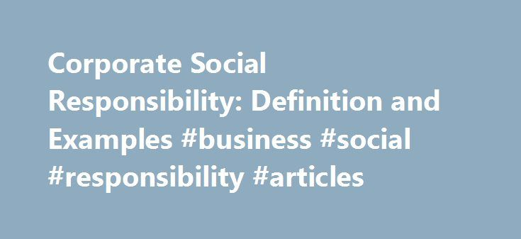 responsible business meaning