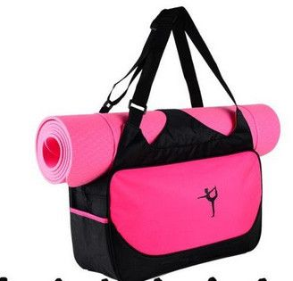 Multifunctional yoga mat and clothes backpack waterproof sport bag dancing backpack yoga supplies