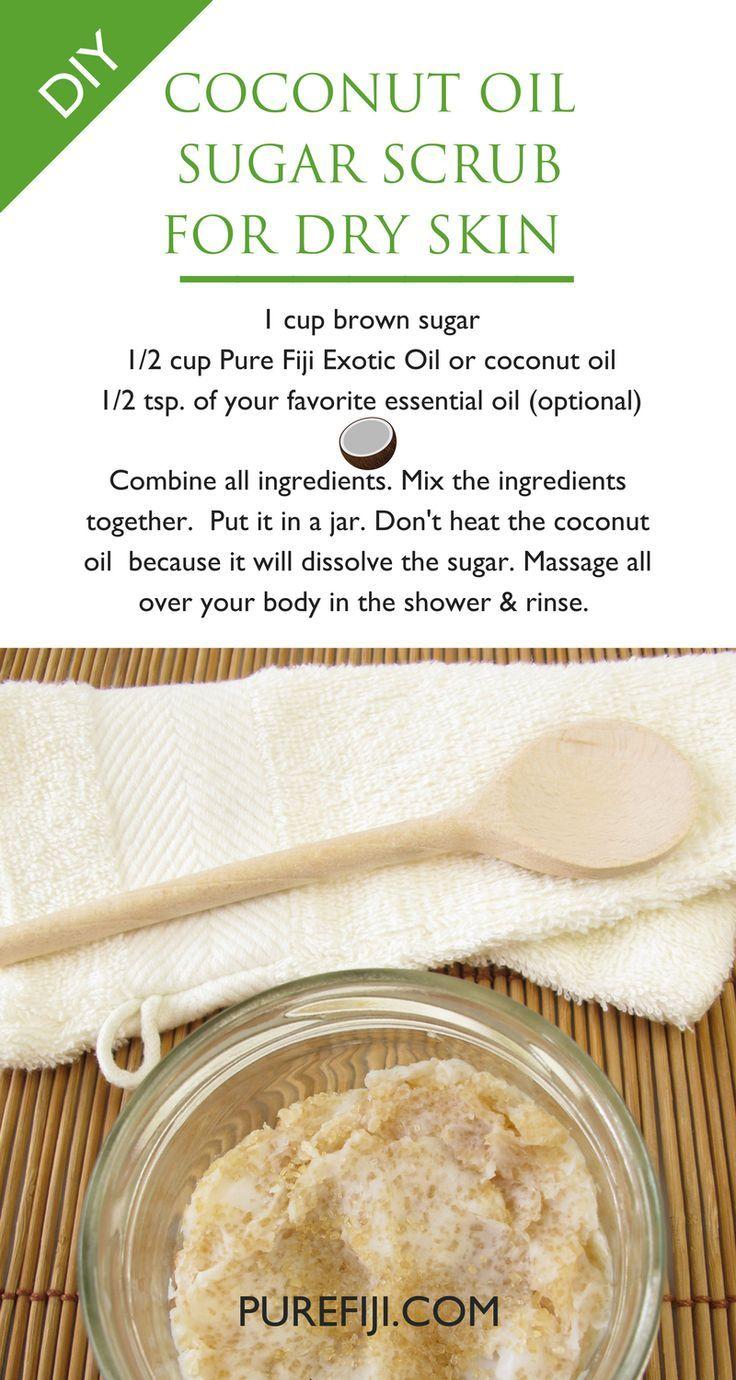 The 5 Best Beauty Benefits Of Coconut Oil Diy Skin Care Recipes Sugar Scrub Recipe Skin Care Recipes