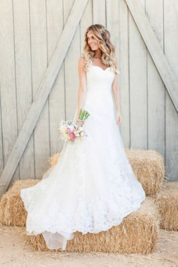 Stunning  Gorgeous Vow Renewal Dress Country Wedding Ideas