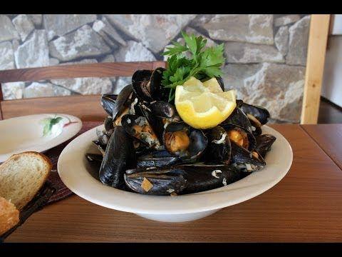 Muscheln Seemanns Art Miesmuscheln in Weißwein zubereiten Rezept schnell und einfach - YouTube