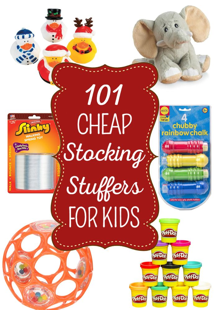 101 Cheap Stocking Stuffers For Kids Of All Ages Santa Is Coming