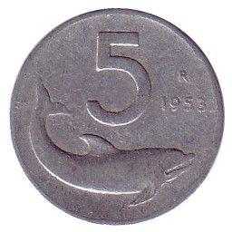 5 Lire, quando i commercianti non avevano il resto in monete ci davano una caramella!
